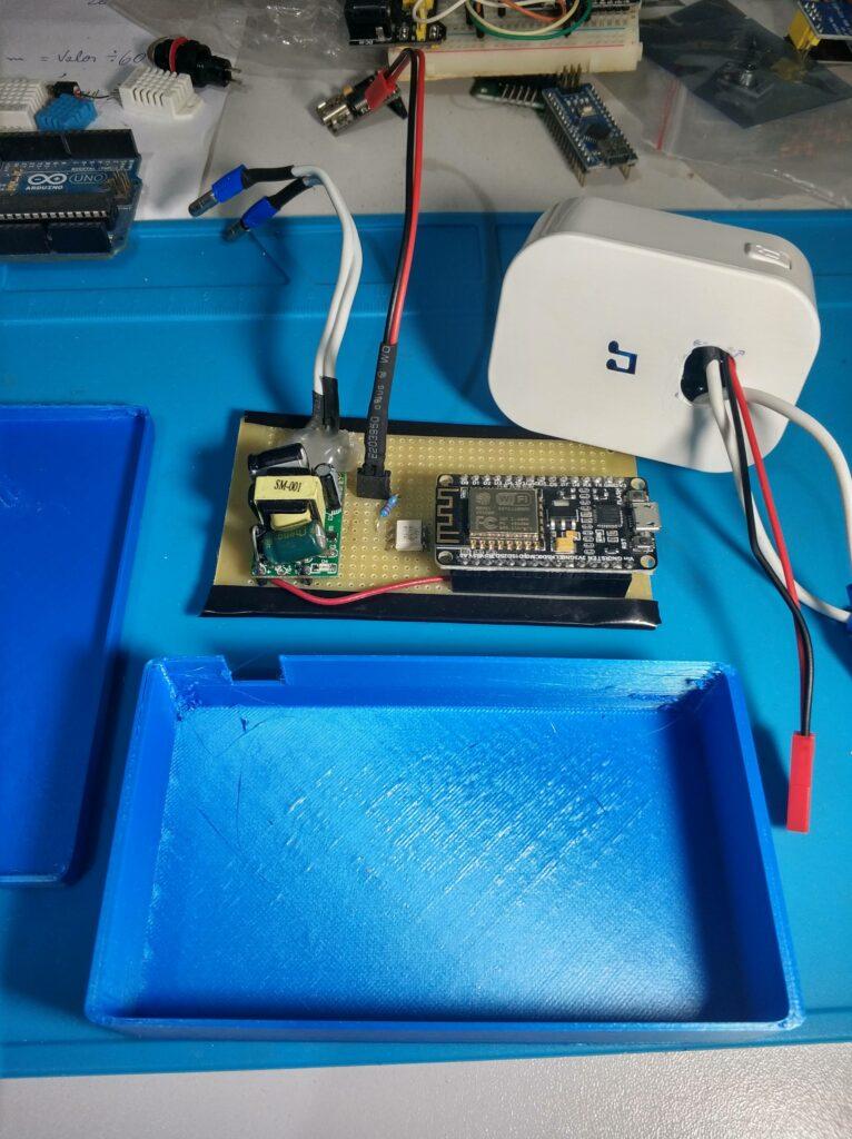 Campainha + Placa Hack + Case impresso em 3D